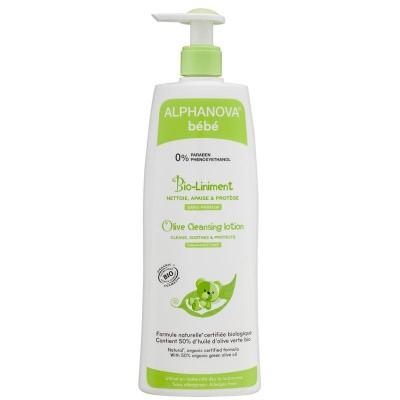 Alphanova Baby Bio olive cleansing lotion