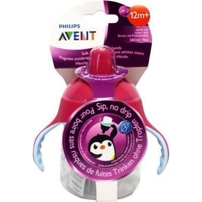 Avent Tuitbeker pinguin 12 maand+ roze