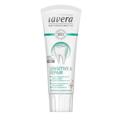 Lavera Tandpasta/toothpaste sensitive & repair F-D