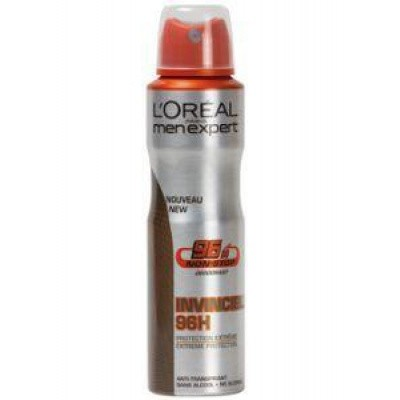 Loreal Men expert deodorant spray invincible