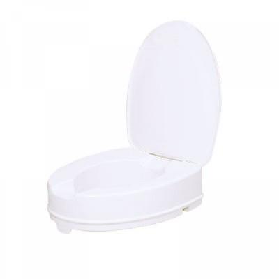 Vitility Toiletverhoger met deksel 10 cm