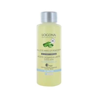Logona Oogmake-up remover bio aloe & amandelolie