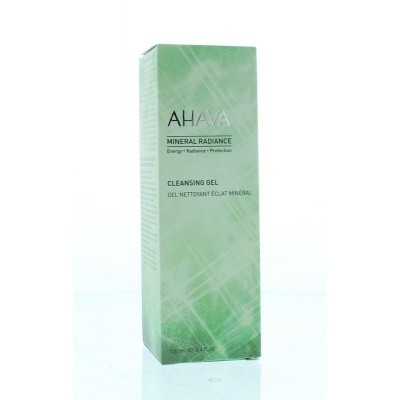 Ahava Mineral radiance cleansing gel
