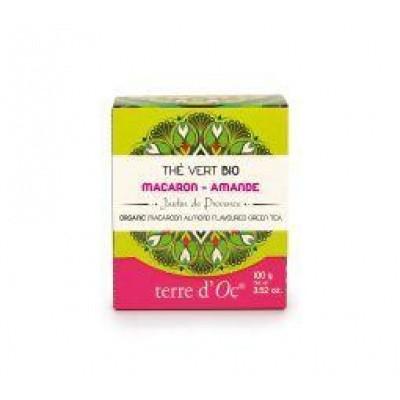 Terre Doc Groene thee macaroon/amandel