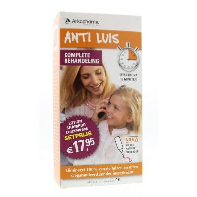 Anti Luis Combiverpakking lotion/shampoo/kam