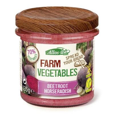 Allos Farm vegetables rode biet & mierikswortel