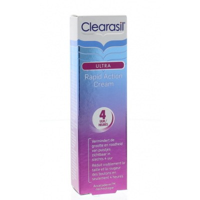 Clearasil Ultra rapid action cream