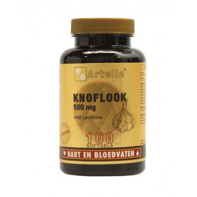 Artelle Knoflook 500 mg +250 mg lecithine