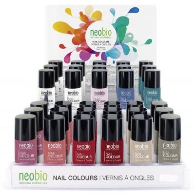 Neobio Nagellak display 01 t/m 11