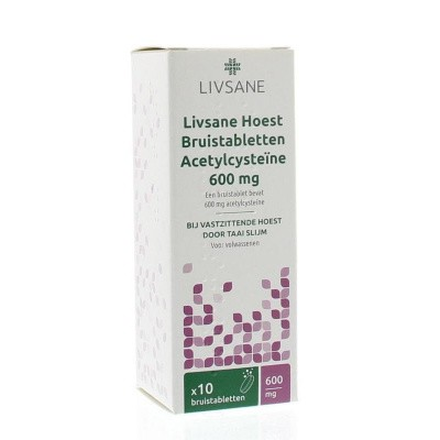 Hoestbruistablet 600 mg