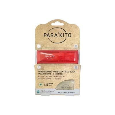 Parakito Armband rood
