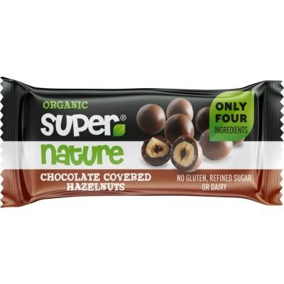 Super Nature Hazelnoten met chocolade