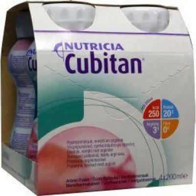 Cubitan Aardbei 200 ml