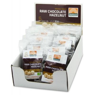 Mattisson Hazelnoten snack raw choco 35 gram