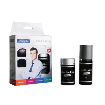 Lanaform Good looking black 1+1 haarpoeder/spray