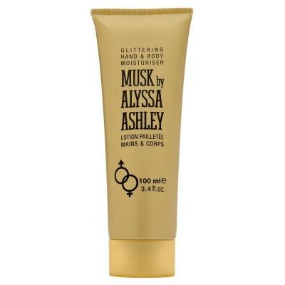 Alyssa Ashley Musk glitter lotion