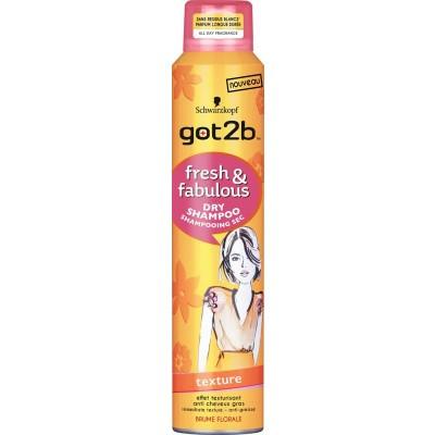 Got2b Droogshampoo fresh & fabulous texture