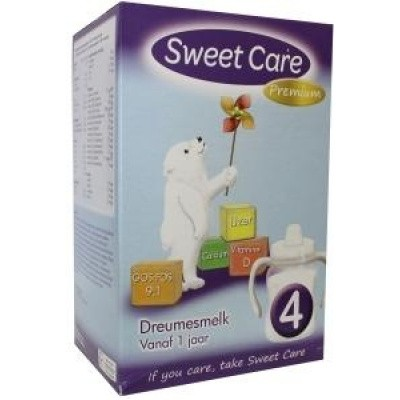 Sweetcare Standaard 4 dreumesmelk 12 maanden plus
