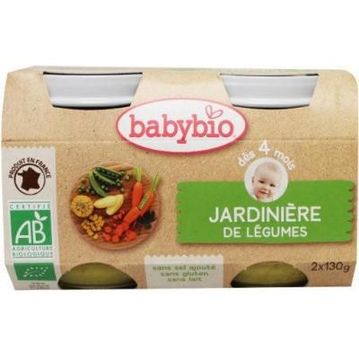 Babybio Groenten tuingroenten 130 gram