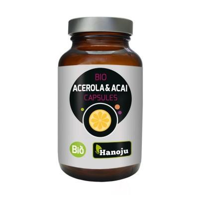 Hanoju Acerola & bio acai 400 mg