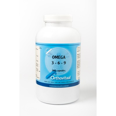 Orthovitaal Omega visolie 3 6 9