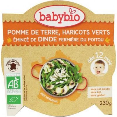 Babybio Mon petit plat kalkoen groenten