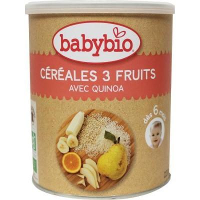 Babybio 3 Vruchtengranen