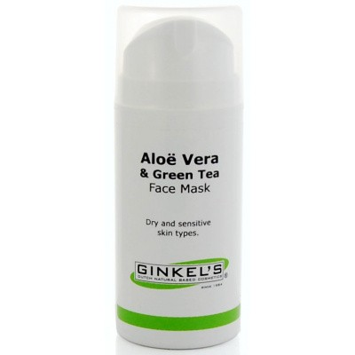 Ginkel's Aloe vera & green tea face mask