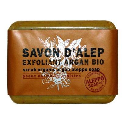 Aleppo Soap Co Aleppo zeep exfoliant argan bio
