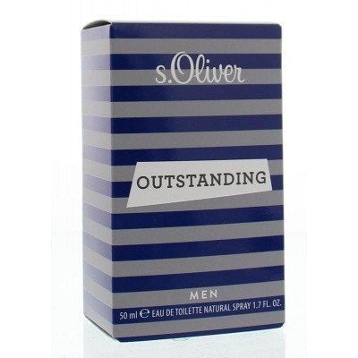 S Oliver Man outstanding eau de toilette spray