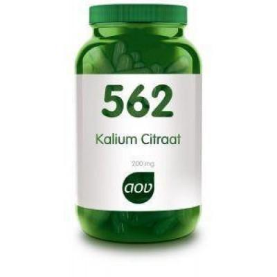 AOV 562 Kalium citraat 200 mg