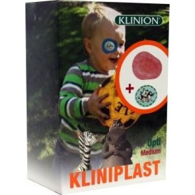 Klinion Oogpleister opti junior medium 294-4148