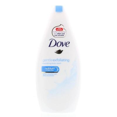 Dove Shower gentle exfoliating