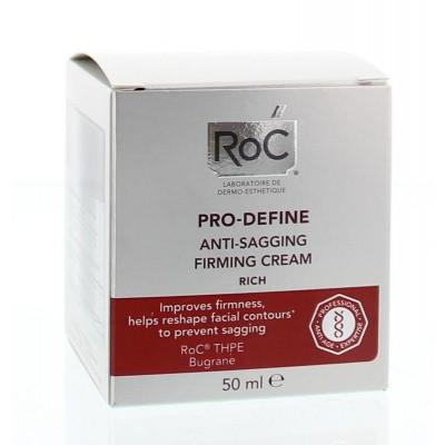 ROC Pro define rich anti sagging firming cream