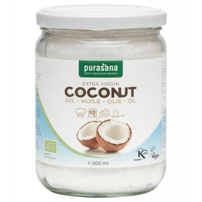 Purasana Kokosolie extra virgin bio