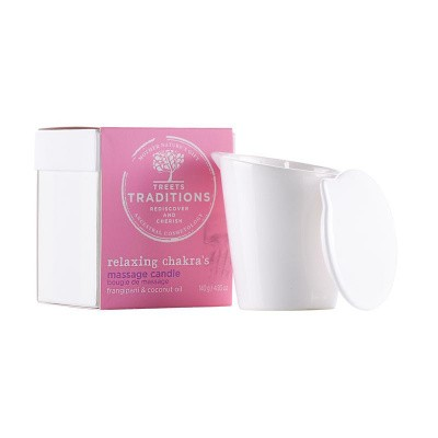 Treets Relaxing chakra´s massage candle