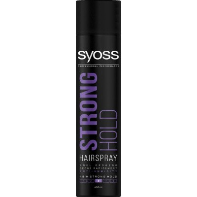 Syoss Styling strong hold haarspray
