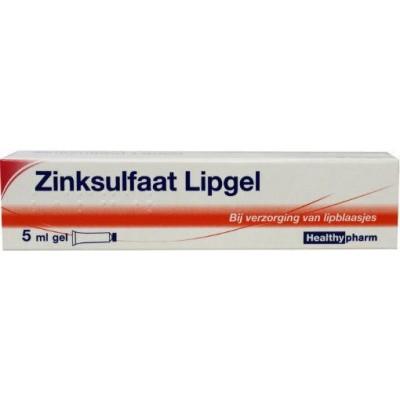 Healthypharm Zinksulfaatgel lipgel 1 mg