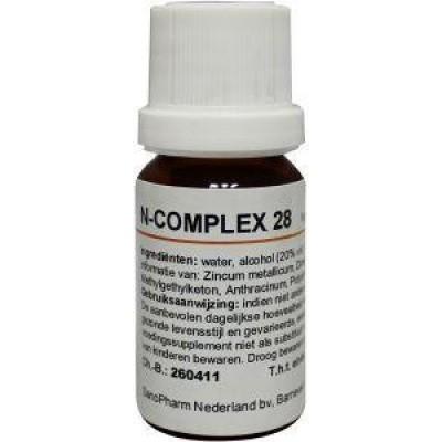 Nosoden N Complex 28 zincum metallicum