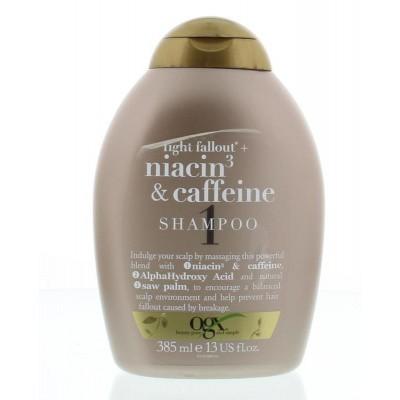 OGX Anti-Hair fallout niacin caffeine shampoo