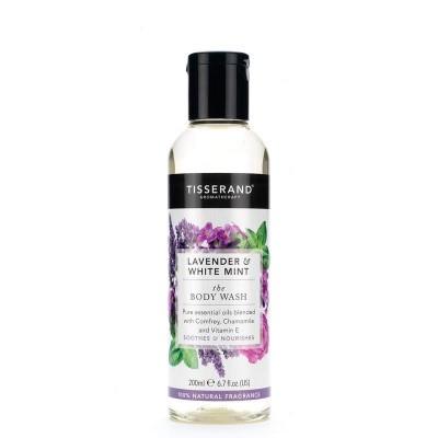 Tisserand Bodywash lavender white mint