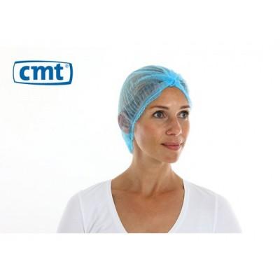 CMT Baret blauw clipcap detecteerbaar 49 cm