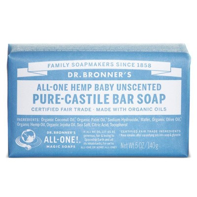 DR Bronners Barsoap baby mild