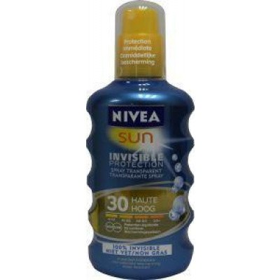 Nivea Sun invisible protect en refresh spray BF30