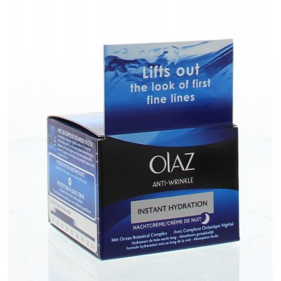 Olaz Anti-Rimpel instant hydration nachtcreme