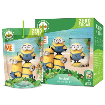 Appy Kids drink minions tropical