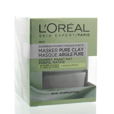 Loreal Skin expert masker pure clay