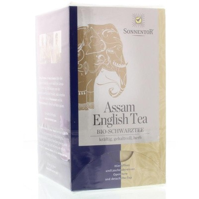 Sonnentor Assam English zwarte thee bio