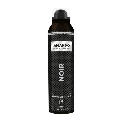Amando Noir shower foam