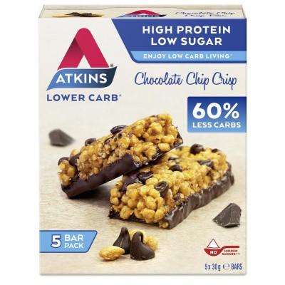 Atkins Chocolate chip crisp reep 30 gram
